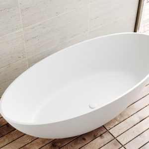 Thin-rim bathtubs